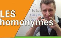 🇫🇷 HOMONYMES - leçon en français facile
