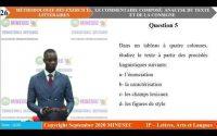 IP-LAL Français (Litterature) Tle Leçon 5 COMMENTAIRE COMPOSÉ ANALYSE DU TEXTE ET DE LA CONSIGNE