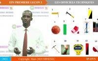 IP-OVS EPS 1ère Leçon 2 LES OFFICIELS TECNIQUES 2