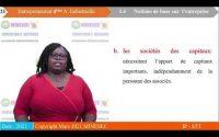 IP STT ENTREPRENEURIAT 4EME ANNEE INDUSTRIEL LEçON 4 NOTION DE BASE SUR L'ENTREP