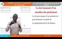 IP STT FISCALITE PREMIERE FIG LEçON 3 LE PROCESSUS  D'ELABORATION DE LA LOI DE FI