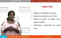 IP-STT GESTION DE L'INFORMATION FINANCIÈRE 1ère CG Leçon 1 Processus de production et de distribu...