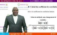 IP-STT techniques commerciales terminale ACC Leçon 3 les techniques basées sur la Correlation linéar