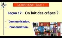Leçon 17 - Activités   LE NOUVEAU TAXI 1   Cours de français A1   Academie Cô Ba
