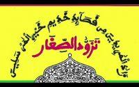 Leçon 2 | Tassawoudou Sixar par Imam Cheikh Kane Bachir