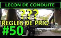 Leçon de conduite #50 - Intersections #5 - Règles de Priorité
