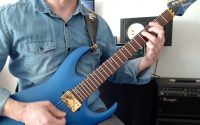 Méthode de Guitare Electrique Cycle1 Chapitre 1 Leçon 10 Partie 2 - Daniel PEROINE