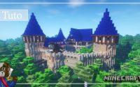 Minecraft | Comment Construire un Grand Chateau | Tutoriel 5