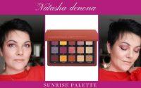 NATASHA DENONA SUNRISE PALETTE / tutoriel maquillage #sunrisepalette #natashadenona