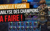 Nouvelle Fusion   Analyse des nouveaux champions   tutoriel raid fr   Raid Shadow Legends FR