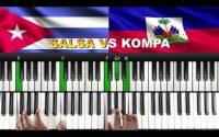SALSA VS KOMPA (AlexCkj) : Tutoriel PIANO QUICK