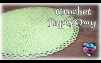 "Tapis Omy tutoriel crochet ""Lidia Crochet Tricot"""