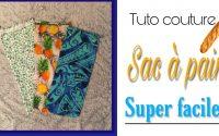 Tuto Couture:sac à pain facile-Sewing tutoriel:easy bread bag(subtitle in English )/ Shrinoxy