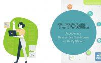 Tutoriel : Accéder aux ressources numériques sur le portail Hapybiblio.fr