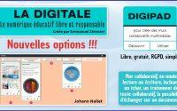 Tutoriel - Digipad, nouvelles options !!!! (dont modération des publications)