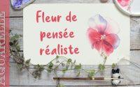 Tutoriel : Fleur à l'aquarelle 🌸