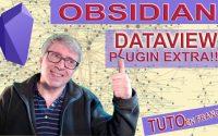 Tutoriel Obsidian en français, le plugin Dataview créer des listes de notes