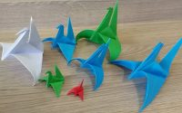 Tutoriel Origami :  La Grue