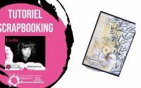 Tutoriel complet mini album scrapbooking français et facile pour Graffiti Girl