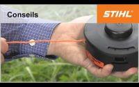 Tutoriel débroussailleuse n° 6 – Remplacer le fil de coupe (tête standard)