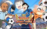 je fais le tutoriel de captain tsubasa dream team sur android