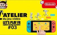 #3 - L'Atelier du jeu vidéo - Tutoriel 3 + Checkpoint 3 + Tests de jeux de la commu (incroyables)