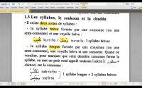 Arabe grammaire active - Leçon 1.3 Les syllabes, le soukoun, et la chadda