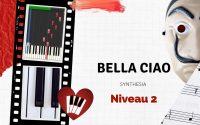 Bella Ciao Piano Tutoriel Niveau 2 Synthesia 100%