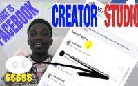 FACEBOOK CREATOR STUDIO (choses à surtout savoir de la MONÉTISATION) - Tutoriel | Amini Cishugi