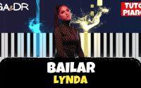 LYNDA - BAILAR (PIANO COVER TUTORIEL KARAOKE ) [ Ga&Dr Piano Tuto ]