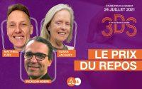 Le prix du repos - Leçon d'école du Sabbat pour le 24.07 - Le trio 3DS avec Susan, Matthieu, Rickson