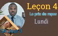 """Leçon 4- (Lundi) """"Appel au réveil"""" Leçon de l'école du sabbat 2021"""