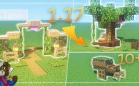 Minecraft   10+ Idées et Hacks en 1.17 pour décorer votre Jardin   Tutoriel