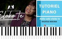 Nadège Mbuma - Bako Sala Eloko te -Tutoriel piano