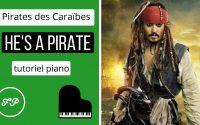 Pirates des Caraïbes - Tutoriel Piano (SANS PARTITION)