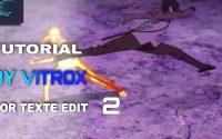 TUTORIEL TEXTE 2 (Alight Motion)