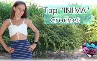"Top ""INIMA"" tutoriel crochet by Lidia Crochet Tricot"