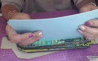 Tutoriel Album Livre d'or Start Your Engine @Ciao bella paper #Scrapcolors #Scrapbooking partie 3