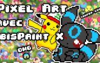 [ Tutoriel ] Comment faire du #PixelArt avec #IbisPaintx ?  (#Shorts)
