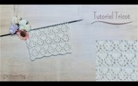 Tutoriel Tricot: Point Gouttes Fantaisie. Knitting Fancy Drop Stitch. Maï Crochet Tricot