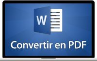Tutoriel Word 2016 - Convertir un fichier Word en PDF