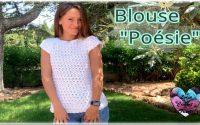 Blouse Poésie tutoriel crochet by Lidia Crochet Tricot