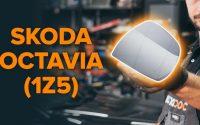 Changer une glace rétroviseur / verre de rétroviseur sur OCTAVIA (1Z5) [TUTORIEL AUTODOC]