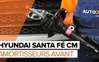 Comment remplacer des amortisseurs avant sur une HYUNDAI SANTA FÉ CM TUTORIEL | AUTODOC