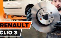 Comment remplacer des disques de frein avant sur RENAULT CLIO 3 [TUTORIEL AUTODOC]