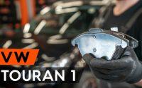 Comment remplacer des plaquettes de frein avant sur VW TOURAN 1t3 [TUTORIEL AUTODOC]