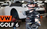 Comment remplacer ressort de suspension avant sur VW GOLF 6 (5K1) [TUTORIEL AUTODOC]