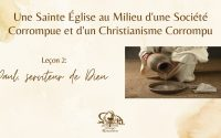 École biblique - Leçon 2 - 14/08/2021