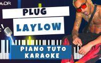 Laylow - PLUG (Piano Cover Tutoriel KARAOKE Beat Paroles) [ Ga&Dr Piano Tuto ]