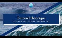 Permis bateau - Tutoriel théorique : Signaux phoniques de manœuvres